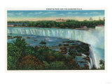 Niagara Falls  Canada - Terrapin Point View of Canadian Falls