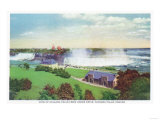 Niagara Falls  Canada - View of Niagara Falls from Oakes Drive