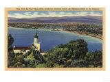Palo Verde Hills  California - View of Redondo & Hermosa Beaches