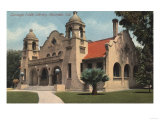 Riverside  California - View of the Carnegie Public Library
