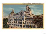 Riverside  California - View of the Rotunda Wing at the Mission Inn