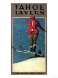 Lake Tahoe  California - Tahoe Tavern Promo Poster