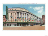 Rochester  New York - Exterior View of Eastman Theatre and School of Music