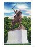 Manchester  New Hampshire - Gen John Stark Statue View