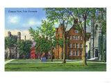New Haven  Connecticut - Yale University Campus View