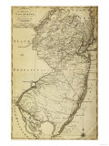 New Jersey - Panoramic Map