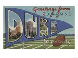 Durham  North Carolina - Duke University