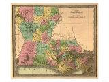 Louisiana - Panoramic Map