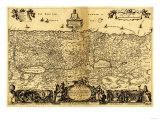 Palestine - Panoramic Map