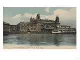 New York  NY - Immigrant Station on Ellis Island