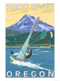 Hood River  OR - Wind Surfers & Kite Boarders