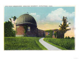 Middletown  Connecticut - Exterior View of Van Vleck Observatory  Wesleyan U