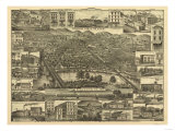 Reading  Pennsylvania - Panoramic Map