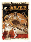 Paris  France - Le Reve Ballet Performance Opera House Promo Poster