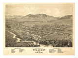 Ogden  Utah - Panoramic Map