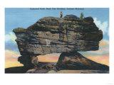 Lookout Mountain  ID - Balanced Rock in Rock City Gardens