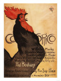 Paris  France - Periodical Cocorico Rooster Promotional Poster
