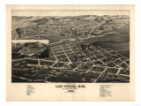 Las Vegas  New Mexico - Panoramic Map