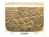 Manteno  Illinois - Panoramic Map