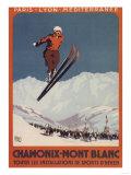 Chamonix Mont-Blanc  France - Ski Jump