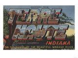 Terre Haute  Indiana - Wabash River