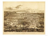 Philadelphia  Pennsylvania - Panoramic Map