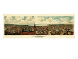 Milwaukee  Wisconsin - Panoramic Map