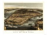 New York City  New York - Panoramic Map