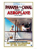 Panama - Panama and the Canal Aeroplane Movie Promo Poster