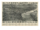 Middletown  Connecticut - Panoramic Map