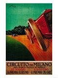 Circuito Di Milano Vintage Poster - Europe