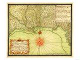 Gulf Coast of the United States - Panoramic Map