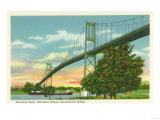 Thousand Islands  New York - American Span of the International Bridge View