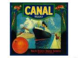Canal Orange Label - Rialto  CA