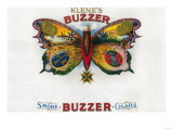 Buzzer Cigar Box Label
