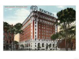Worcester  Massachusetts - Exterior View of the Hotel Bancroft