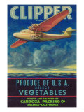 Clipper Vegetable Label - Salinas  CA