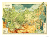 Russia - Panoramic Map