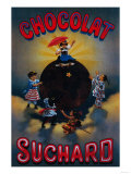 Chocolat Suchard Vintage Poster - Europe