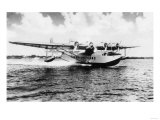 China Clipper flying out of Miami  Fl Photograph - Miami  FL