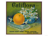 Califlora Orange Label - Riverside  CA