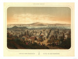 San Francisco  California - Panoramic Map No 2
