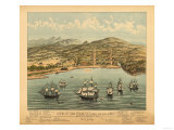 San Francisco  California - Panoramic Map No 1