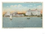 St Petersburg  FL - Waterfront View of Soreno Hotel
