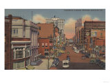 Spokane  WA - View of Riverside Ave