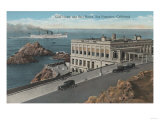 San Francisco  CA - Cliff House and Seal Rocks View