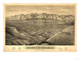 Santa Barbara  California - Panoramic Map No 1