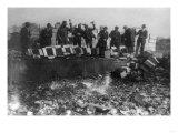 Beer Bottles Smashed During Prohibition Photograph - Washington  DC