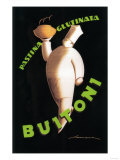 Tuscany  Italy - Buitoni Pasta Promotional Poster