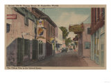 St Augustine  Florida - View of St George St No2